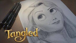 Rapunzel (Tangled) - Pencil Drawing