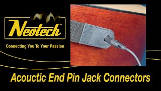 Slimline Strap Acoustic End Pin Jack - Product Peek