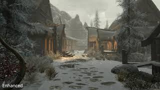 Skyrim Mods: IA92's Realistic Snow (PS4/XBOX1)