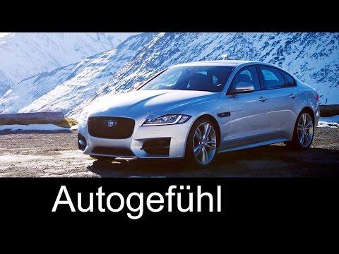 2017 Jaguar XF AWD 2.0 Diesel preview - Autogefühl