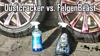 Liquid Elements Dust Cracker Felgenreiniger Test & Vergleich Sonax FelgenBeast [Extrembeispiel]