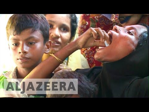 Anti-cholera vaccination under way for Rohingya refugees in Bangladesh