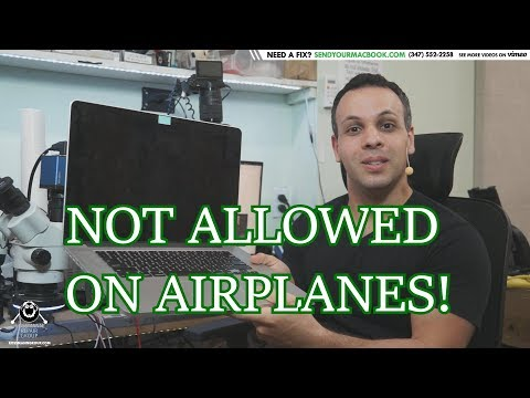 2015 MacBook Pro BANNED from flying on certain airlines!