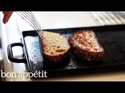 How to Sear Your Toast so It's Extra Crispy