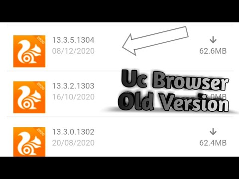 Descargue la versión antigua del navegador Uc | Parte 3 |
