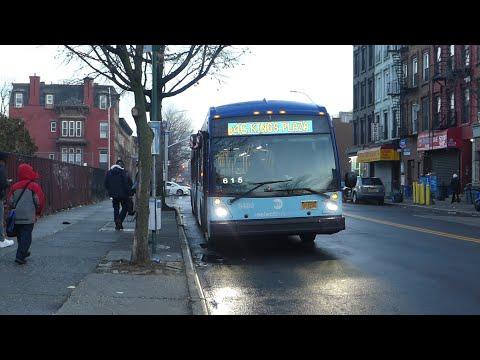 MTA NYCT Bus: New Flyer XD60 #6064 & Nova-LFSA #5486 B46 +Select Bus Service+ at Gates Ave