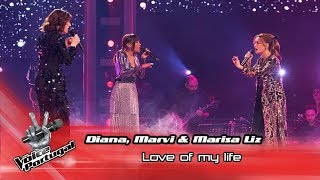 "Marisa Liz & Diana Castro e Marvi - ""Love of my life"" 