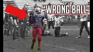 """"""" Wrong Ball"""" Trick Plays In Football"""