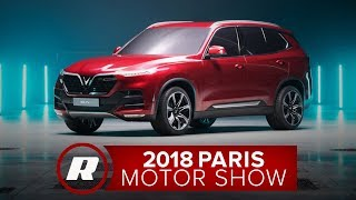 The cars from VinFast: Vietnam's first auto manufacturer | 2018 Paris Motor Show