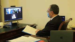 Foreign Ministers of Armenia and Moldova held a video call