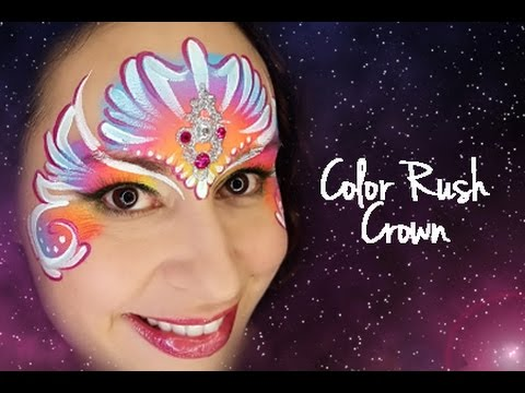 face painting tutorial by face paint forum
