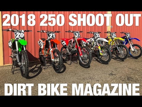 2018 250 Shootout – Dirt Bike Magazine
