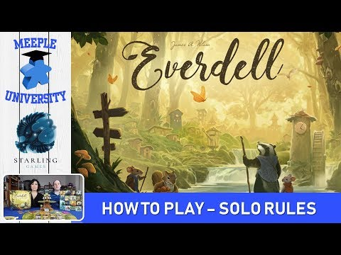 Everdell Board Game – How to Play Solo Rules & Setup