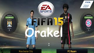 preview picture of video 'FIFA 15 Bayern Orakel - Manchester City vs. FC Bayern München [PS4]'