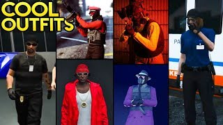 GTA Online Fashion Friday: 25+ AWESOME OUTFITS! (Paramedic, Detective, Biohazard, Rappers & More)