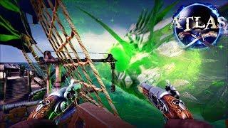 Atlas - Galleon Battles Ghost Ship, PVP, Typhoons & New Monsters + Dev Q&A! - Atlas Gameplay