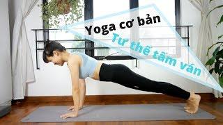 Yoga Cho Người Mới Tập - Tư Thế Tấm Ván - Giúp Eo Thon Bụng Phẳng