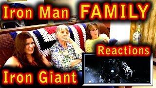 IRON MAN | Family Reactions | IRON GIANT | 3