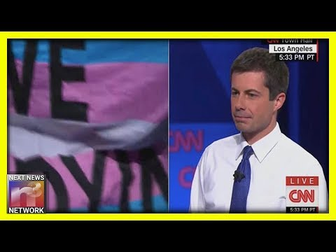 Pete Buttigieg Interrupted By Trans Activists During CNN's LGBTQ Town Hall