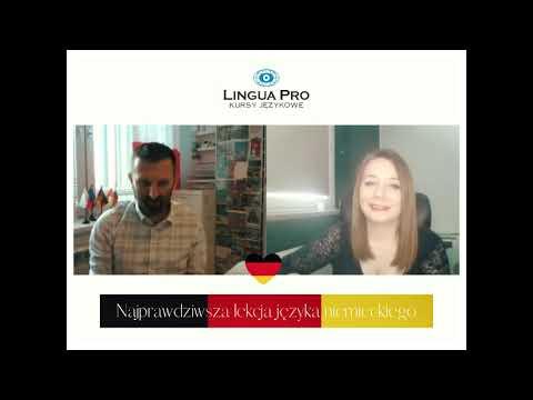 Kadr z filmu na youtube - Najprawdziwsza lekcja języka niemieckiego 13_20