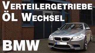 BMW Verteilergetriebe Ölwechsel I BMW Xdrive Allrad I 530xd I 520xd I 525xd