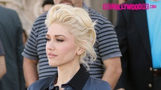 Gwen Stefani Looks Stunning Attending Church With Her Children In Los Angeles 2.7.16