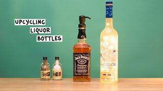 Liquor Bottle Hacks - Tipsy Bartender
