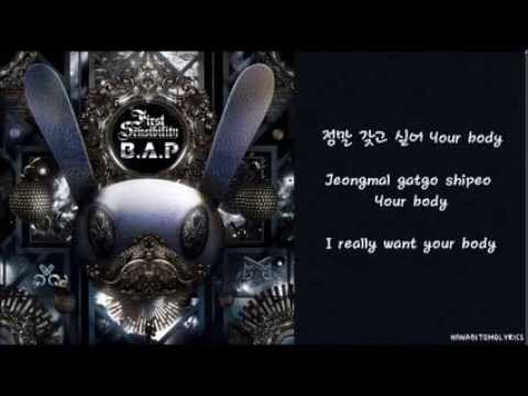 [B.A.P] Body & Soul (Hangul/Romanized/English Sub) Lyrics