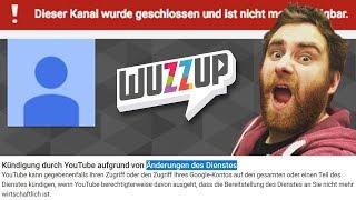YouTube Löscht Finanziell Irrelevante Kanäle?  - Angebliche YouTube-Änderung - WuzzUp Feedback