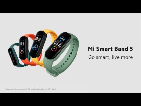 Xiaomi Mi Smart Band 5 (GPS connecté)