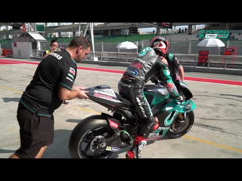 Fabio Quartararo at Sepang Test