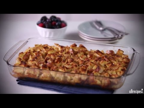 Breakfast Recipes – How to Make Easy French Toast Casserole