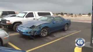 02/28/2014 Accident Hit and Run Highway 160 Saddle West