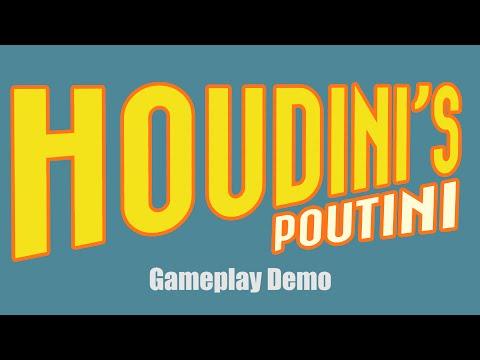 Houdini's Poutini Gameplay Video