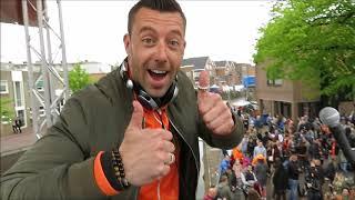 Koningsag Voorstraat, Havenplein & Uitplein een impressie het einde van Koningsdag 2018