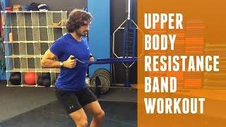 上身阻力樂隊鍛煉|身體教練 出處 The Body Coach TV