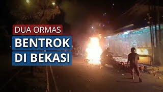 Ormas PP dan PSHT Bentrok di Bekasi Akibat Tak Mau Bayar Kopi di Warung