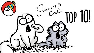 Top 10 Episode Countdown! - Simon's Cat | STORYTIME