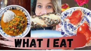 What I eat + Vlog. Brot backen mit Dinkel & Einkorn. Alles aufbrauchen. Kochen mit Resten.