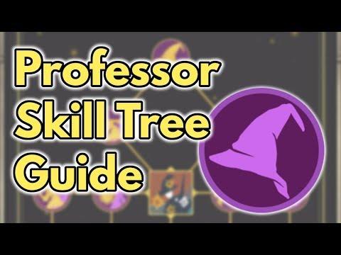 Professor Skill Tree Guide | Wizards Unite
