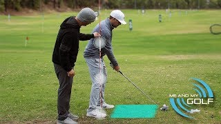 HOW TO SHALLOW THE CLUB AND HIT LONGER DRIVES | ME AND MY GOLF
