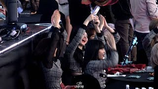 190123 Red Velvet Power UP 열심히 따라부르는 TWICE 나연 (Nayeon) 직캠