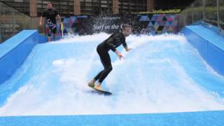 preview picture of video 'Surf in the City at Broadate City of London'