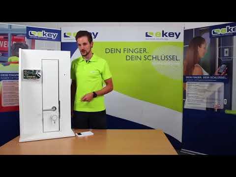 ekey home Fingerprint Zutrittslösung mit HomeMatic Funk Türschlossantrieb KeyMatic 14 11 2017