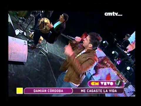 Damián Córdoba video Me cagaste la vida - CM Vivo 2014