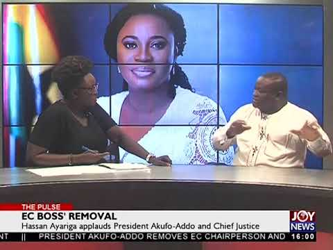 Hassan Ayariga applauds President Akufo-Addo and Chief Justice - The Pulse on JoyNews (29-6-18)