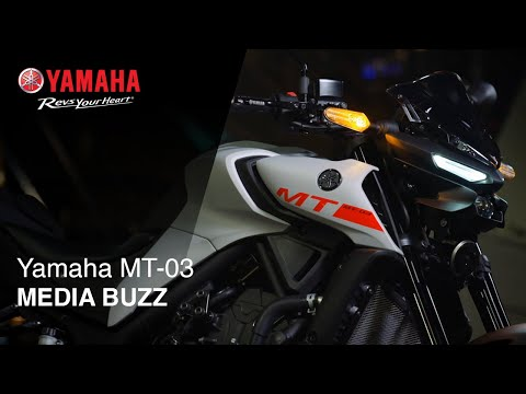 2021 Yamaha MT-03 in Massillon, Ohio - Video 3