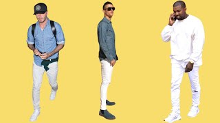 Why Every Guy Should Wear White Jeans