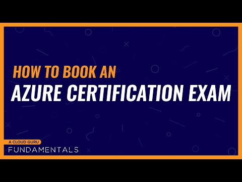 How to book an Azure certification exam - YouTube