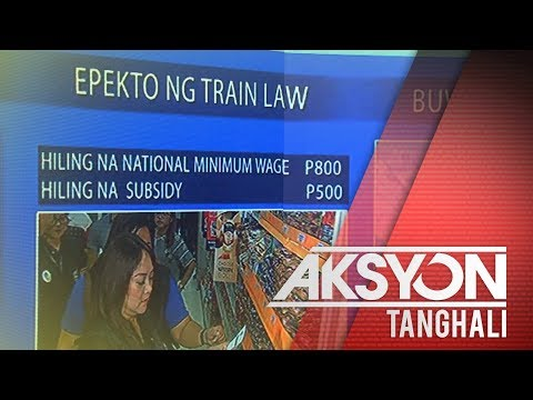 [News5]  Labor group, nanawagan ng P800 minimum wage
